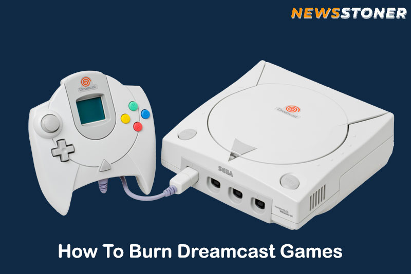 How to burn dreamcast games